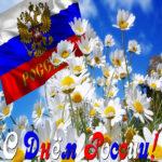 Открытка с днем России
