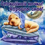 Спокойной ночи gif картинка